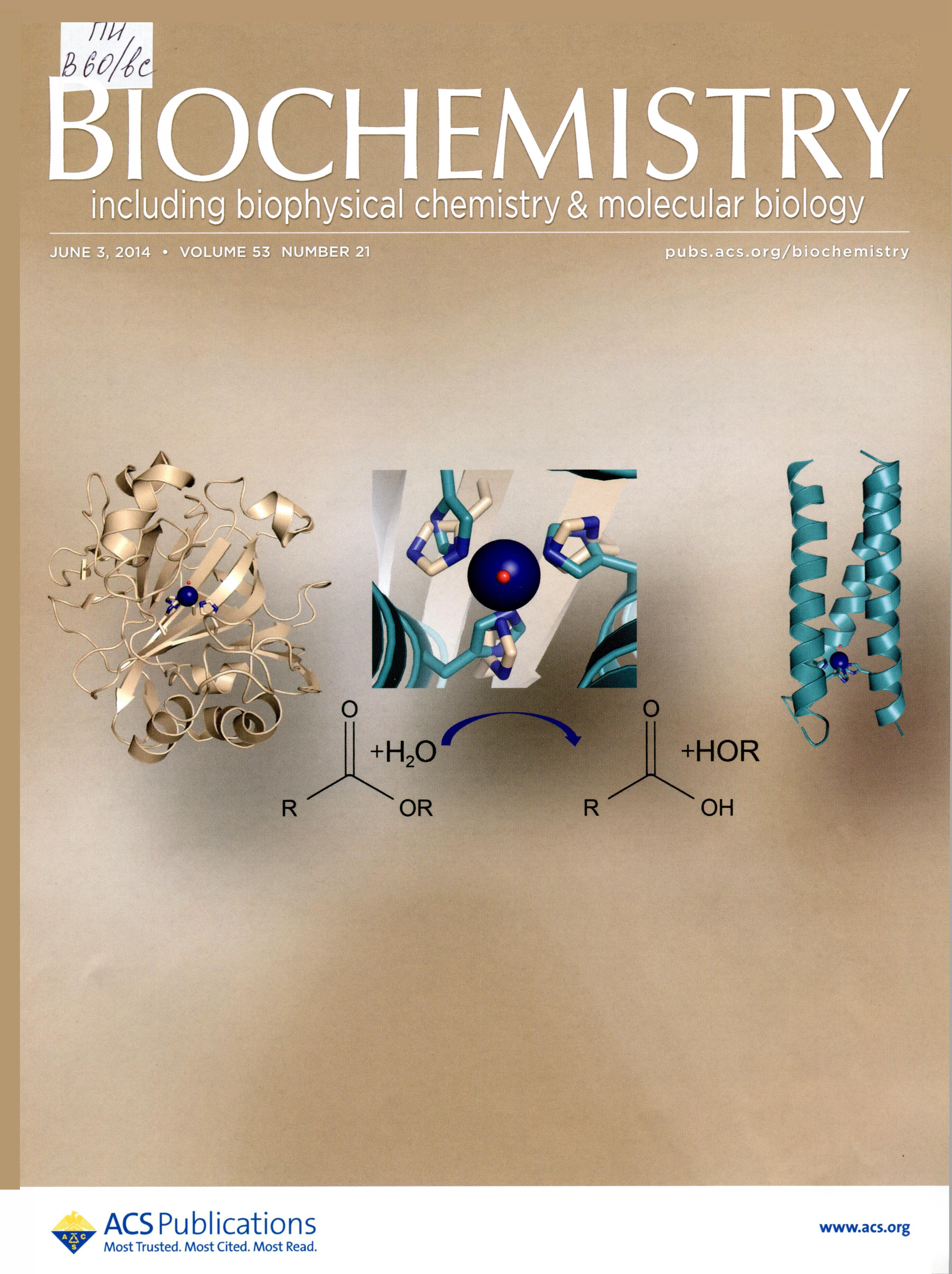 biochemistry 2014 Biochemistry and biophysics 2014 publications ahern, kevin ahern, kevin (2014) the citric acid cycle biochemistry and molecular biology education 42, 510 ahern, kevin (2014) merry metabolic and miscellanic melodies davinci press, isbn 978-1.
