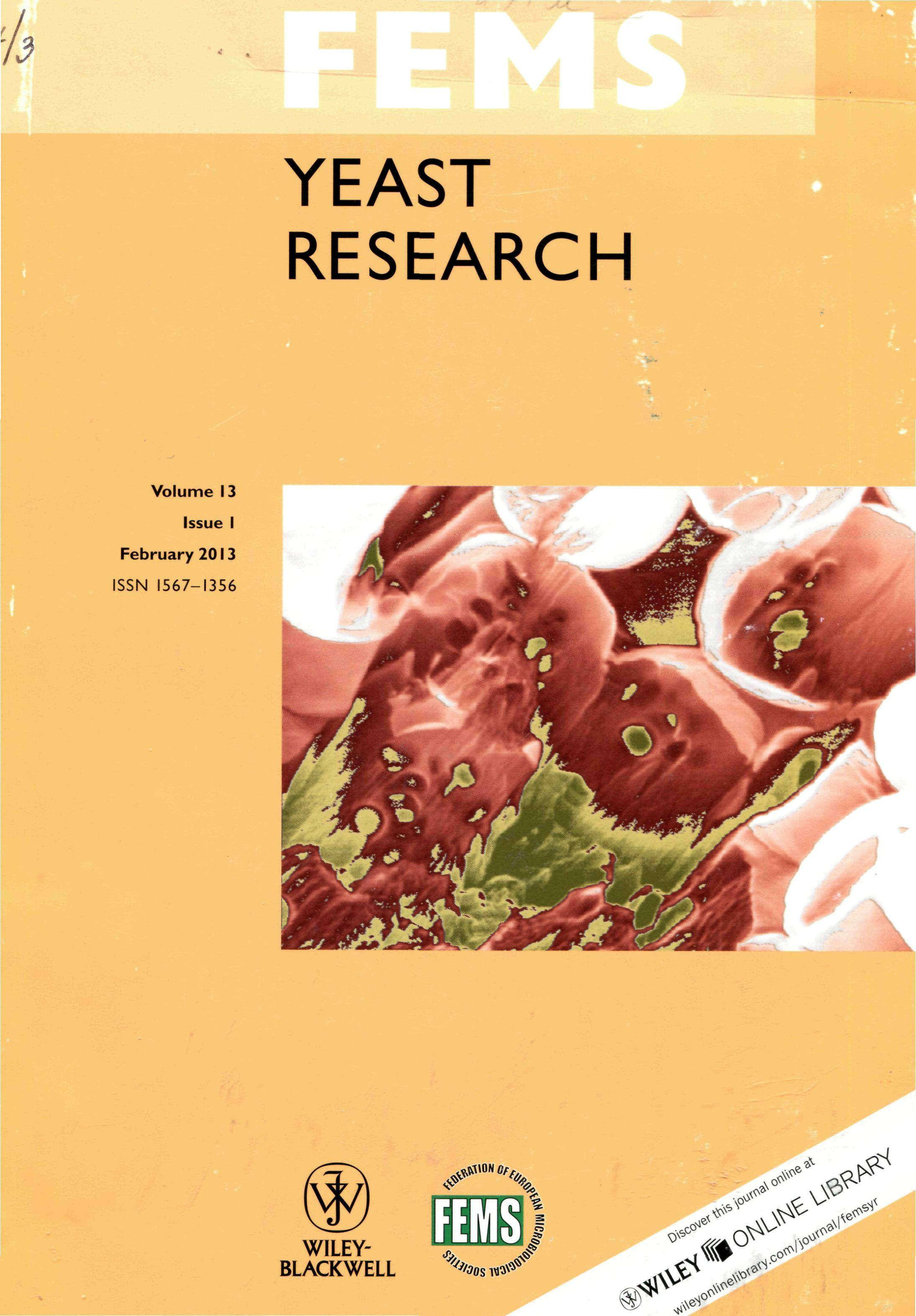 yeast research paper Related journals of yeast fermentation fermentation technology, journal of advanced chemical engineering, research & reviews: journal of microbiology and.