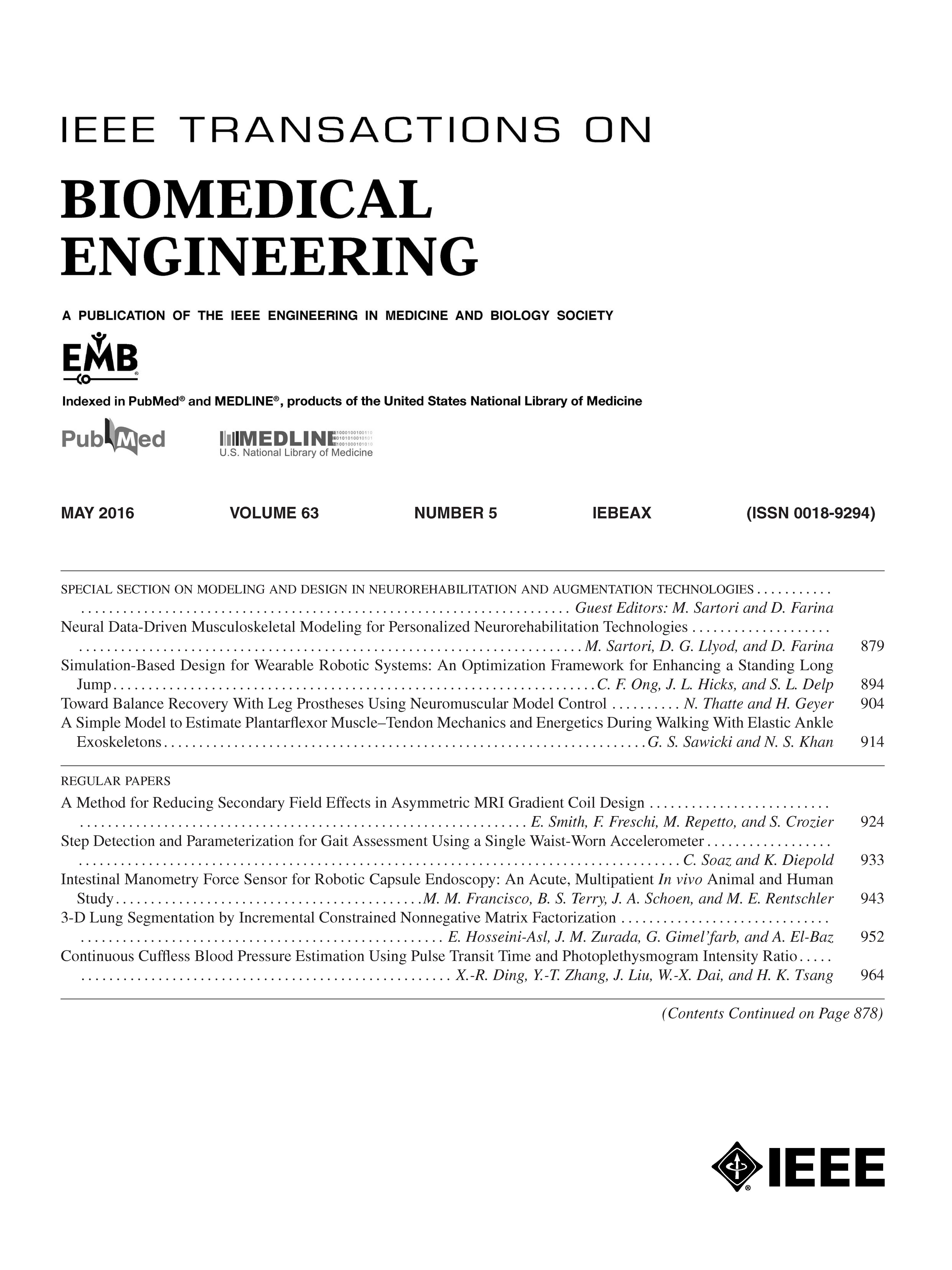 ieee transactions on biomedical engineering cover letter Special section on deep learning in medical applications ieee transactions mi instructions and indicate in the cover letter that the biomedical engineering.