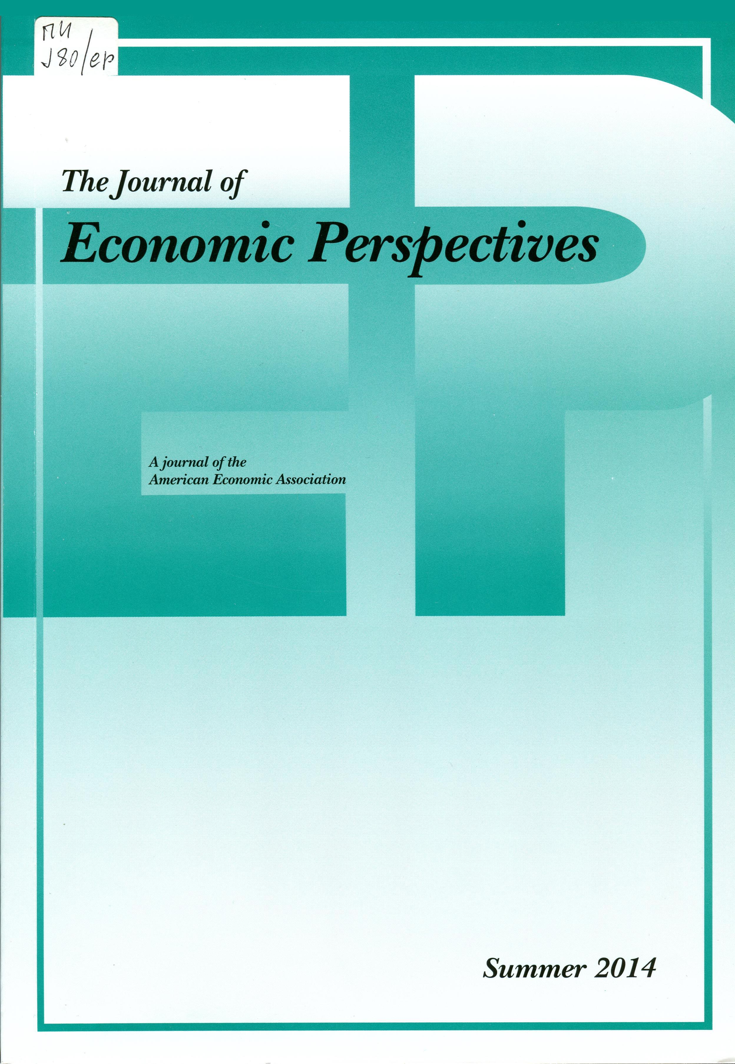 journal of economic perspectives Economic perspectives a monetarist view of the fed's balance sheet normalization period marcelo veracierto this article examines the methodology used to.