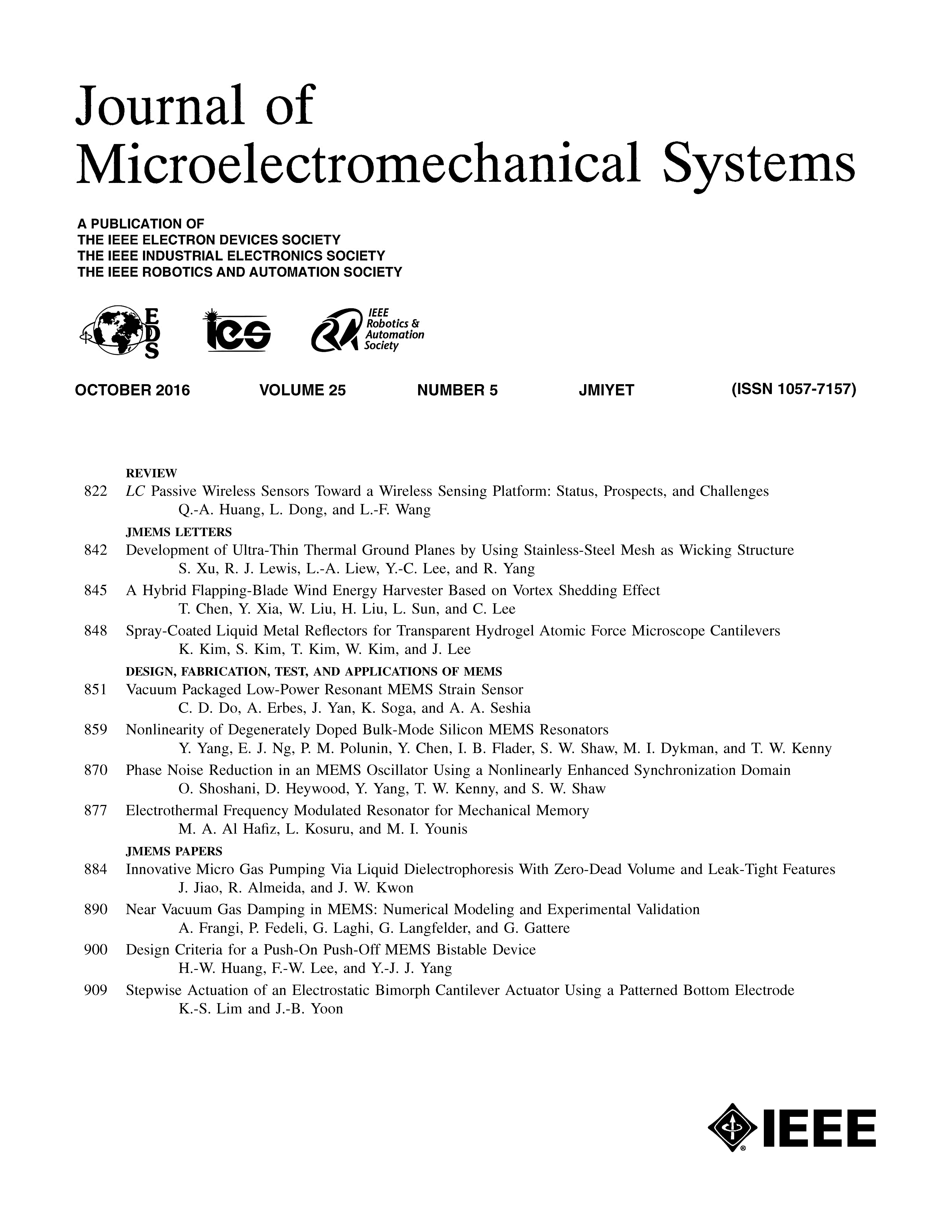 using a microelectromechanical system View all technologies available for licensing collaboration opportunities collaborations with industry and small businesses support the labs' primary missions and help companies bring exciting technologies to the marketplace as new and improved products.